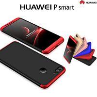 COVER per Huawei P Smart CUSTODIA Fronte Retro 360° ARMOR Case Vetro Temperato