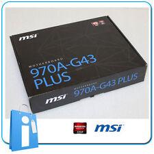 Placa base ATX 970 MSI 970A-G43 PLUS Socket AM3 con Accesorios