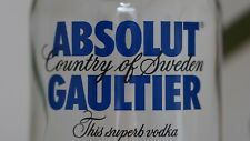 ABSOLUT GAULTIER Vodka Limited Edition Hyper Rare Full & sealed 750ml Jean Paul