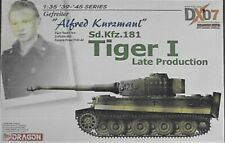 Dragon 6416 1/35 Tiger I Late Production Kurzmaul DX07 (Free shipping)