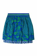 Stella McCartney Baby Girl's Paisley Skirt Size 3 Blue Elastic Waist