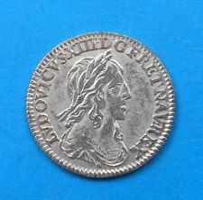 Louis XIII 12ème d'écu 2ème poinçon 1642 A point , avec baies BEL ETAT