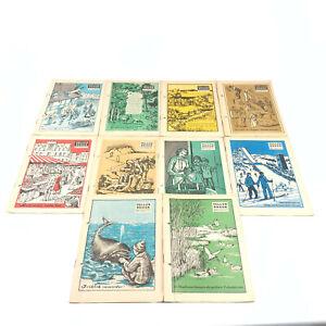 Tellus Bogen 10 Ausgaben B1-B10 1957-58