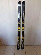 Paire de Ski ROSSIGNOL Toon Wide 1,70 m 67-104 avec fixation MARKER Twin Cam