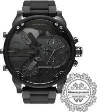 DZ7396 Mr. Daddy Diesel 2.0 Quadrante Nero Cronografo Orologio Uomo