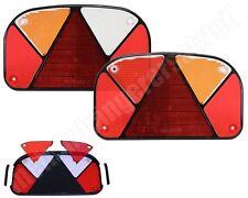 2x Aspöck Multipoint 2 Lichtscheibe Ersatzglas für Multipoint 2 Rückleuchte