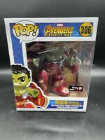 Funko Pop Hulk Busting Out Of Hulkbuster #306 Gamestop Exclusive A