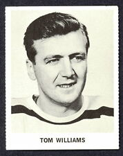 1965 COCA-COLA COKE TOM WILLIAMS EX-NM BOSTON BRUINS  HOCKEY CARD