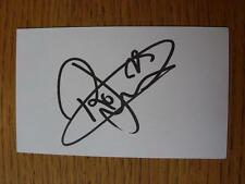 50's-2000's Tarjeta Autografiada Blanco: Jarvis, Rossi-Norwich City