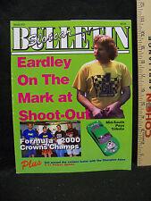 SLOT CAR BULLETIN - ISSUE #72 // EARDLEY ON THE MARK AT SHOOT-OUT