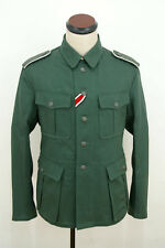 WWII German M40 EM summer HBT reed green field tunic M