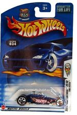 2003 Hot Wheels #34 First Edition #22 Tire Fryer 0710 card