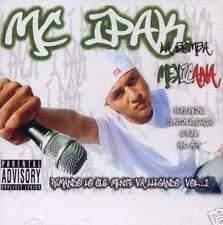MC IPAK LA BOMBA MEXICANA G FUNK SPANISH CHICANO RAP CD