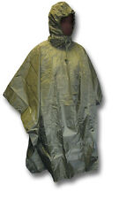 HIGHLANDER RIPSTOP HOODED PONCHO / CAPE, GREEN [37157]