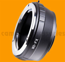 Minolta MC MD SR X-600 lens to Fuji X-mount adapter XF XC Fujifilm E2 M1 A1 Pro1