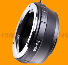 Minolta MC MD SR X-600 lens to Fuji X-mount adapter XF XC Fujifilm E2 M1 A1 Pro1