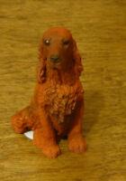 Castagna Mini Dog Figurines #360 IRISH SETTER,  Made in Italy, NEW/Box