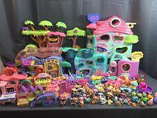 Lot of 225 Pieces Little Pet Shop LPS 5 Playsets 180 Accessories 40 Pets