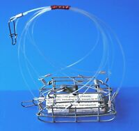 PAUL'S  HAND  CRAFTED  HIGH QUALITY  CRAB  SNARE .4.oz   WEIGHT INCLUDED. .