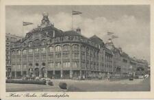 """Berlin- Alexanderplatz  s/w  AK """"Hertie - Kaufhaus """" ungel Erh. I -0136-"""