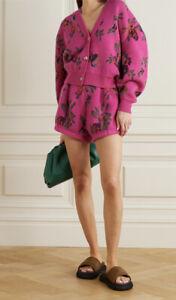 Magda Butrym wool floral shorts