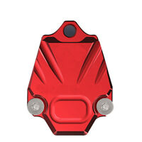 RED Motorcycle key lid colored accessories electric door lock w/ key shell cover