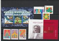 Australia High Court Centen. Rugby Cup + other Mint Never Hinged Stamps ref22069