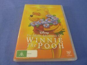 The Many Adventures Of Winnie The Pooh DVD Disney Classics 16 Region 4