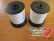 2011-2020 Jeep Grand Cherokee 3.0L Diesel Set of 2 Fuel Filter MOPAR OEM