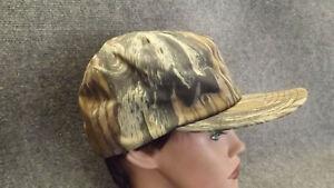 Vtg NEW Mossy Oak Treestand Camo Snapback Goretex Hunting Hat/Cap USA made