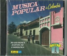 Musica Popular De Columbia Volume 1 Latin Music CD New