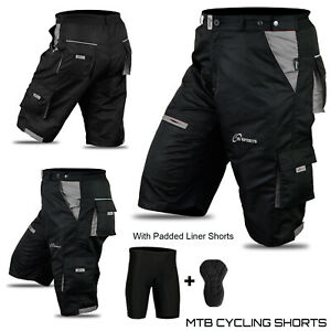 MTB Shorts Bicycle Mountain Cycle Off Road Padded shorts Outdoor 3S SPORTS New