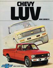 1978 Chevy LUV PICKUP TRUCK Brochure / Catalog : MIGHTY MIKE,MIKADO,Pick Up,8