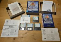 "1992 DYNAMIX SIERRA ACES OF THE PACIFIC MS-DOS PC VIDEO GAME 3.5"" + Expansion!!!"