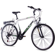"28"" ZOLL CITY BIKE CITYRAD TREKKINGRAD HERRENRAD KCP TERRION 18G SHIMANO"