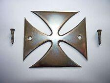 Iron Cross Croix de fer en acier inoxydable pour particulier guitare avec 2 vis