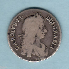 New listing Great Britain. 1668 - Charles 11 Shilling. aF/F