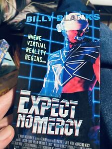 Expect No Mercy Vhs —promo Screener  Billy Blanks Martial Arts
