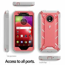 Poetic Revolution Case With Hybrid Heavy Duty Protection for Motorola Moto E4