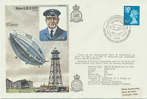 GB RAF 1977 Special Balloon Flicht Royal Air Force flown EXPERIMENTAL FLIGHT