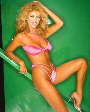 Sybil Danning Leggy Pose In Bikini Color Poster Print