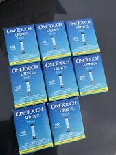 100ct OneTouch Ultra Blue Test Strips Ex 12/31/2020 Blue Retail .Edited 11/19