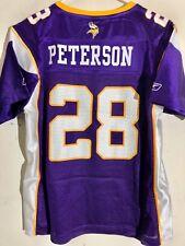 Reebok Women s NFL Jersey Minnesota Vikings Adrian Peterson Purple ... c3882e9ce
