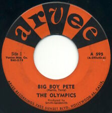 "THE OLYMPICS Big Boy Pete/The Slop 7"" 1960 Arvee VG+"