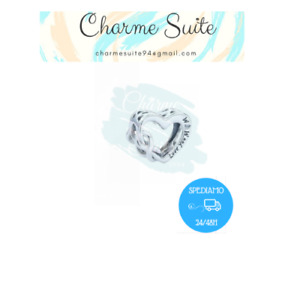 Charms Charm Cuore Infinito Love My Mom