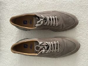 Foot Joy FJ 1857 Shoes - Size 11 Brownish Grey In Excellent Condition. Worn Once