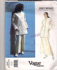 Vogue Sewing Pattern 1541, Issey Miyake Jacket, Skirt, Pants, Size 12 - 16 Uncut