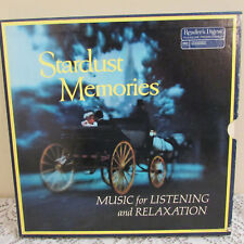 """Stardust Memories Music For Listening & Relaxation 8 Record Albums Vinyl 12"""" Set"""