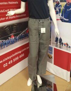 Nomex Trouser Grey (#34) Size: 74W, +4 i/Leg