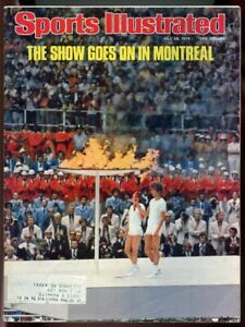 SI: Sports Illustrated July 26, 1976 The Show Goes on in Montreal Olympic G